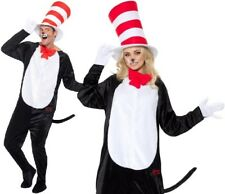 "Adult Dr Seuss Cat in The Hat Fancy Dress Costume Unisex Suit by Smiffys M (38-40"" Chest)"
