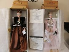 Gene Dolls Mel Odom Ashton Drake Champagne Supper + Bird Of Paradise Coas +Shprs