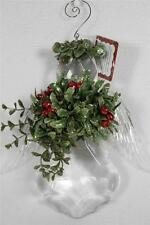Angel Kissing Krystal-With the legend of the Mistletoe-LARGE Ornament #KK-1  NEW