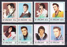 St. Vincent - Michel-Nr. 862-869 von 1985 postfrisch/** (Musik: Elvis Presley)