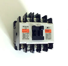 New Fuji Electric Magnetic Contactor SC-5-1H , AC 200V, Ith=32A, 5.5kW, 2NO
