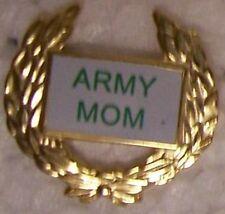 Hat Lapel Push Tie Tac Pin Army Mom NEW
