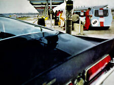 1968 FORD MUSTANG SHELBY COBRA GT500 * ORIGINAL GULF OIL AD *GT/40/350/500/hood