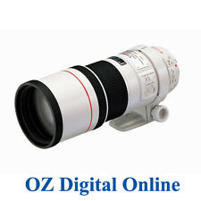 Canon EF 300mm 300 F4 F/4 L IS USM LENS + 1 Year Au Wty