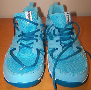 REEBOK  sz 7.5 WOMENS RUNNING SNEAKERS - LIGHT WEIGHT - TUQUOISE - NWOB SHO-10