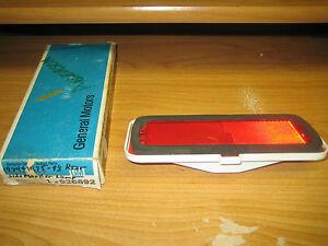 NOS GM 1974-1975 Oldsmobile 98 Custom Cruiser Rear Marker Lamp Light Lens
