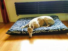 Kosipet ® grandes Deluxe Impermeable Fibra une Pad Leopardo Polar Perro Cama