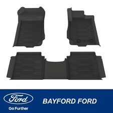 GENUINE FORD RANGER PX WEATHER MATS FRONT AND REAR SET RANGER LOGO