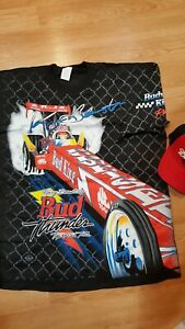 Nhra Top Fuel Dragster Kenny Bernstein Xl New Shirt And Hat Combo
