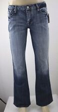 NEW 7 For All Man Kind Stud Back Pockets Women's Denim Blue Jean Size 31