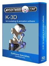 K 3D Animation Graphics Studio Design Software CD-ROM 2017
