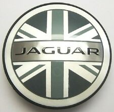 Original Jaguar X-Type u. XJ Union Jack Nabenkappen Felgenembleme NEU XJ8 XJR