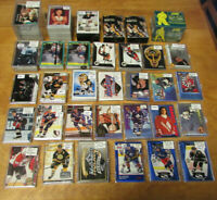 Huge NHL Hockey Insert Card Lot of Sets & Partial Sets Upper Deck Classic Score