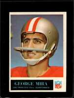 1965 PHILADELPHIA #179 GEORGE MIRA EX RC ROOKIE 49ERS  *X6682