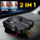 2 in 1 Car Truck Cooler Auto Air Conditioner Fan Fast Cooling Car Heater 12V USA photo