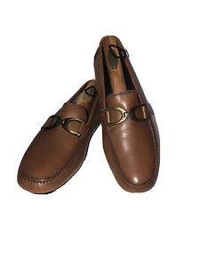 Donald J. Pliner Von Saddle Bushed Calf Leather Driving Moccasin Loafer 8