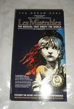 Les Miserables - In Concert (VHS Tape, 1996)