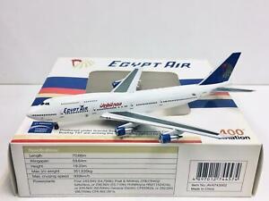 Aviation 1:400 Egypt Air BOEING 747-300 SU0GAM AV4743002