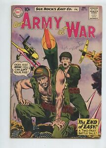 Our Army At War #101 (1960) Sgt. Rock VG+