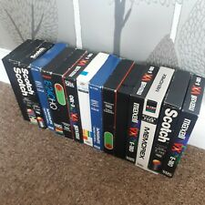 15 Used Recordable VHS Tapes.
