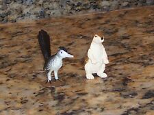 Road Runner & Prairie Dog Miniature Southwestern Animal Figurines Safari Ltd.