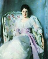 Wall Art CANVAS Print Reproduction Lady Agnew by John Singer Sargent Giclee 8x10