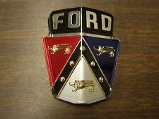 NOS OEM Ford 1950 1951 Hood Ornament Emblem Plastic Badge Logo Crest