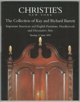 Antique American Furniture - Barrett Collection Catalog @ Christie's 1997