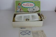 Vintage Sanitoy Nursery Needs Electric Baby Feeding Dish 1700 3 Section Ul