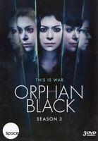 ORPHAN BLACK - SEASON 3 (DVD)