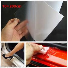 Universal 10 × 200 cm clair Film de voiture porte Sill/Edge peinture Protection anti-rayures