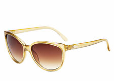 Kenneth Cole Reaction Womens Champagne Brown Lenses Sunglasses Kc1285 45