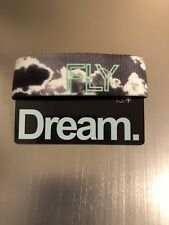 Dream Zox Strap Reversible Wristband - White Star New - Begins With Dreamer Fly