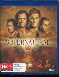 Supernatural The Fifteenth and Final Season Blu-ray NEW Region B