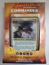 MTG Commander 2017 Deck Draconic Domination The Ur Dragon Brand New Sealed