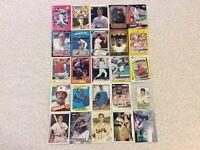 HALL OF FAME Baseball Card Lot 1979-2019 BOB GIBSON KEN GRIFFEY JR. NOLAN RYAN