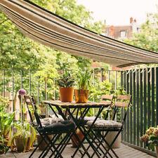 3 Sizes Waterproof UV Sun Shade Sail Outdoor Top Canopy Patio Rectangle Net Pool