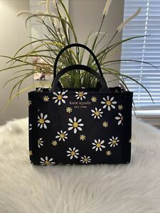 New 💐Kate Spade Sam the little Better Daisy Dots Mini Tote Great Gift