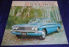 BR1807 1961 Buick Special Dealer Sales Brochure 12pgs