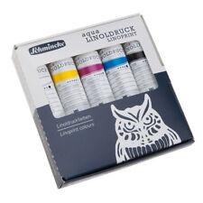 Schmincke Aqua Linoldruck Linoprint Colours Set 5x20 ml Set