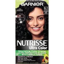 Garnier Nutrisse Ultra Haircolor, Reflective Jet Blue Black BL11