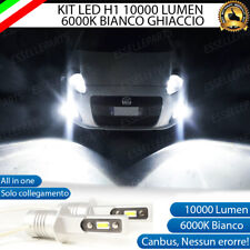 KIT FULL LED H1 FIAT GRANDE PUNTO 10.000 LUMEN 6000K CANBUS FENDINEBBIA NO ERROR