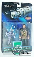 Marcus Cole 1997 Babylon 5 Earth Alliance White Star Previews Exclusive 1990s