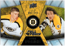2015-16 Upper Deck Full Force Dual Force  BOBBY ORR & PHIL ESPOSITO  #/649