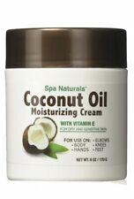 Spa Naturals Coconut Oil Moisturizer Vitamin E For Dry Sensitive Skin Body Face