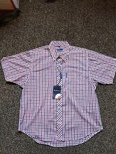 Boys Ben Sherman check  shirt  size medium NEW FREE UK PP