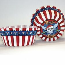 Party Skull & Crossbones Pirate Pirates Cupcake Fairy Cup Cake Bun Cases 995270