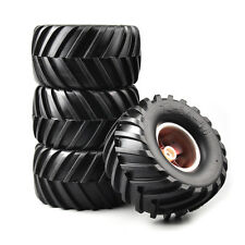 RC 1:10 Racing Bigfoot Monster Tires Wheel Rims 4Pcs For HSP HPI Car 12mm Hex