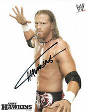 Wwe Curt Hawkins Hand Signed Autographed 8X10 Promo Photo With Coa Rare