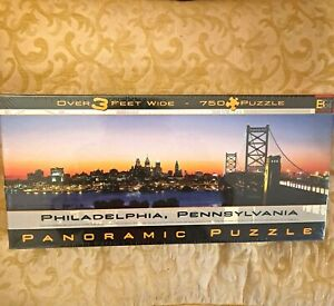 Philadelphia, Pennsylvania Panoramic Puzzle 765 Pieces 2000 Buffalo Games